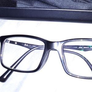 Ray Ban black men's prescription glasses